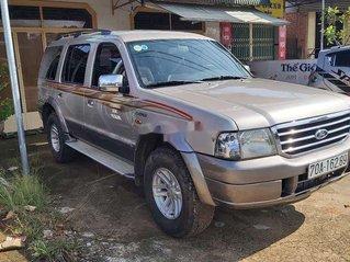 Bán xe Ford Everest 2005, màu xám, số sàn, máy dầu