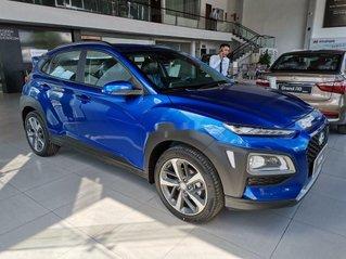 Bán Hyundai Kona sản xuất năm 2020, màu xanh lam, 614tr