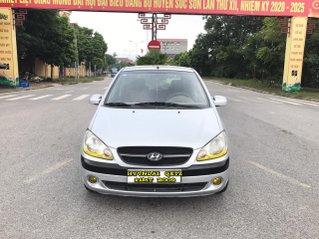 Hyundai Getz 1.1MT 2009 nhập khẩu, số tay, màu bạc, 1 chủ, nói không với lỗi nhỏ, taxi dịch vụ, xe quá chất lượng