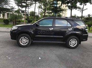 Cần bán Toyota Fortuner 2.7V 4x2 AT năm sản xuất 2013, màu đen