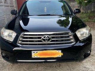 Chính chủ cần bán gấp xe Toyota Highlander Limited 3.5 AWD đời 2008 màu đen