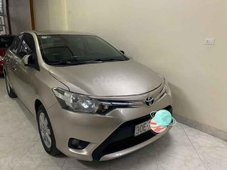 Bán Toyota Vios E đời 2017, màu vàng cát còn mới, giá chỉ 440 triệu