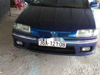 Cần bán gấp Mazda 323 năm sản xuất 1999, màu xanh lam, xe nhập