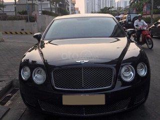 Chính chủ bán Bentley Continental Speed W12 dung tích 6.0L, vin 2009, màu đen nội thất kem, bản 4 chỗ siêu sang trọng