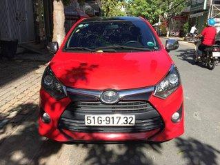 Cần bán Toyota Wigo sản xuất năm 2018, màu đỏ, nhập khẩu nguyên chiếc