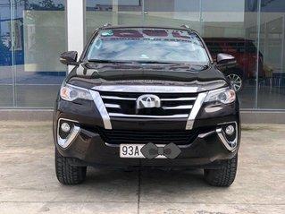 Bán xe Toyota Fortuner đời 2019, màu đen, xe nhập số tự động