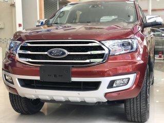 Ford Everest Bi-Turbo 2020 giảm 90tr tiền mặt + PK chính hãng, đủ màu giao ngay tận nơi