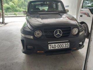 Cần bán lại xe Ssangyong Korando đăng ký 2003, màu đen còn mới, giá 155 triệu đồng
