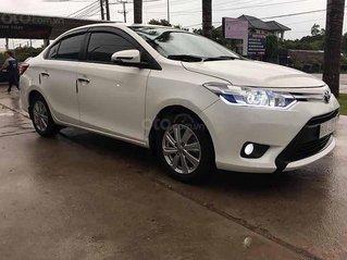Cần bán xe Toyota Vios E đời 2017, màu trắng, giá chỉ 385 triệu