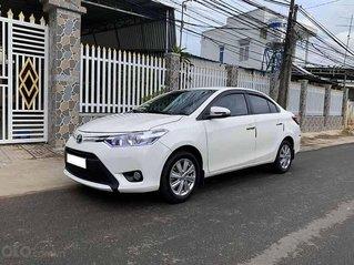 Bán ô tô Toyota Vios 1.5E sản xuất năm 2017, màu trắng còn mới, giá 383tr