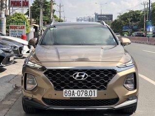 Bán Hyundai Santa Fe năm 2020, màu nâu, máy dầu cao cấp
