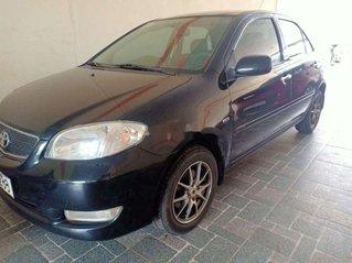 Cần bán lại xe Toyota Vios đời 2006, màu đen số sàn