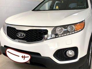 Bán xe Kia Sorento đời 2013, màu trắng số tự động, bản full