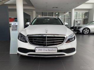 Mercedes C200 Exclusive trẻ trung - Năng động, xe sang giá tốt - Ưu đãi thuế