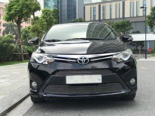 Cần bán gấp Toyota Vios đời 2016, màu đen