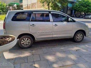 Bán Toyota Innova J sản xuất 2008, màu bạc xe gia đình
