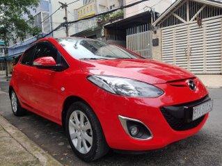 Cần bán Mazda 2S đời 2013 Auto, màu đỏ, gia đình sử dụng mới 98%
