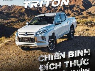 Bán ô tô Mitsubishi Triton sản xuất năm 2020, màu trắng, nhập khẩu