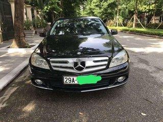 Cần bán xe Mercedes C250 sản xuất năm 2010, màu đen xe gia đình