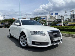 Audi A6 nhập Đức 2011 màu trắng zin 5 chỗ hàng full có rất nhiều đồ chơi cao cấp, số tự động 6 cấp