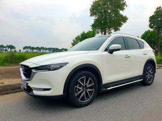 Bán xe Mazda CX 5 đời 2019, màu trắng, máy 2.5 hai cầu đủ đồ