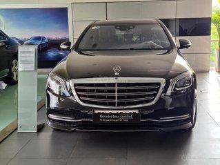[Hot sale] Mercedes-Benz S450 Luxury 2020, màu đen, lướt 1.000 km, quà tặng siêu hấp dẫn