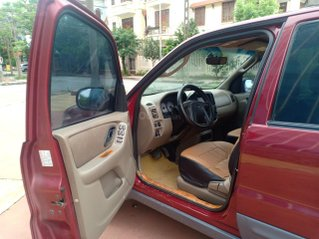 Ford Escape 2003 màu đỏ may mắn, số tự động 5 chỗ xe mỹ giá rẻ chỉ có 140tr