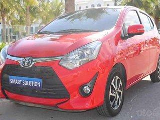 Cần bán lại xe Toyota Wigo năm sản xuất 2019, màu đỏ còn mới