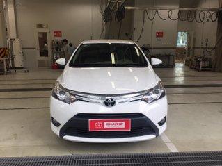 Thanh lý xe Toyota Vios 1.5G 2017,Màu Trắng GĐ HCM đi 42.000km -  Xe chất giá tốt