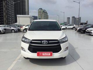 Thanh lý xe Toyota Innova 2.0E 2019 Màu Trắng GĐ HCM đi 35.000 - Xe chất giá tốt