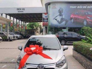 Bán Toyota Wigo đời 2019, màu bạc