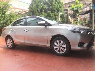 Cần bán lại xe Toyota Vios G đời 2018, màu bạc
