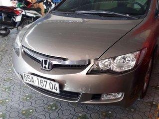 Cần bán gấp Honda Civic đời 2008, màu ghi vàng