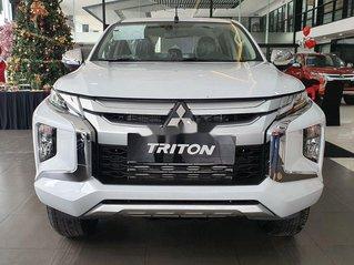 Bán xe Mitsubishi Triton đời 2020, màu trắng, giá chỉ 740 triệu