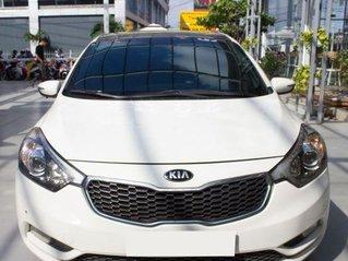 Cần bán lại xe Kia K3 1.6 AT sản xuất 2014, màu trắng còn mới
