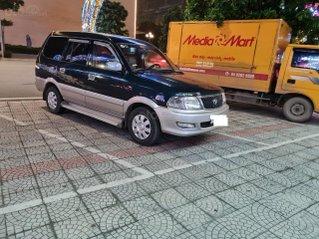 Cần bán Toyota Zace 8 chỗ, máy xăng, SX 2004, máy 1.8, xe 5 cửa đã chạy 12800km, xăng 7 L/100 km, nội thất vàng