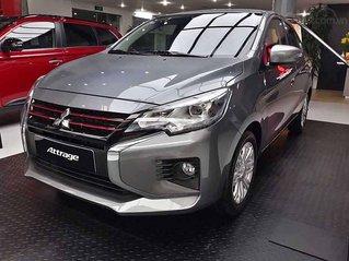 Bán xe Mitsubishi Attrage năm sản xuất 2020, màu xám, xe nhập