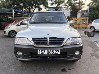 Bán lại xe Ssangyong Musso năm sản xuất 2004, số tự động