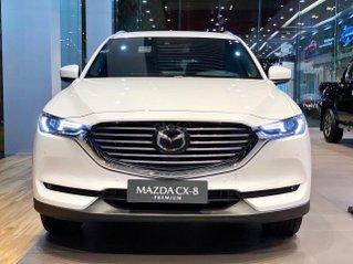 [TPHCM] Mazda CX8 Premium - ưu đãi hơn 200tr - đủ màu - tặng phụ kiện - chỉ 317tr nhận xe