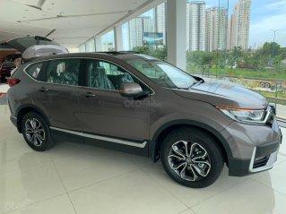 [ Honda ô tô Sài Gòn Quận 2 ] Honda CR-V 2020 - miễn 100% phí trước bạ + gói KM cực khủng, hỗ trợ vay ngân hàng lãi suất ưu đãi