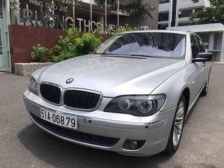 Cần bán xe BMW 750Li sản xuất 2007, màu bạc, nhập khẩu