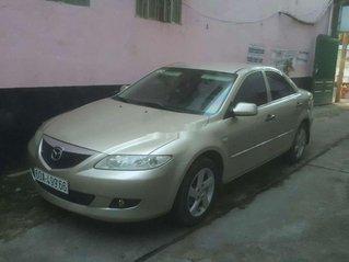Bán ô tô Mazda 6 sản xuất năm 2003, số sàn, màu vàng cát