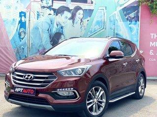 Cần bán Hyundai Santa Fe sản xuất năm 2018, màu đỏ, giá chỉ 969 triệu