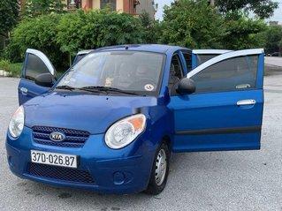 Gia đình bán Kia Morning sản xuất năm 2009, màu xanh lam, xe nhập