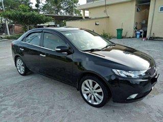 Cần bán gấp Kia Cerato sản xuất năm 2010, màu đen, nhập khẩu nguyên chiếc, giá 310tr