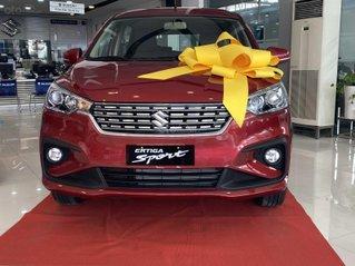 Suzuki Ertiga full option giá cực sốc, hỗ trợ trả góp cực cao, chỉ còn vài xe trả trước 100triệu có xe lăn bánh