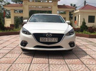 Bán ô tô Mazda 3 sản xuất 2015, màu trắng nhập khẩu nguyên chiếc giá tốt 500 triệu đồng