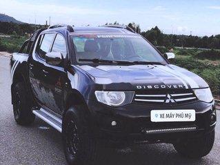 Chính chủ bán Mitsubishi Triton năm 2009, màu đen, 2 cầu số sàn
