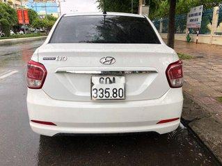 Cần bán gấp Hyundai Grand i10 sản xuất 2016, màu trắng, nhập khẩu