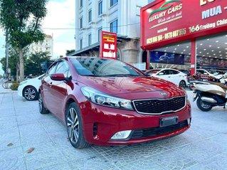 Bán xe Kia Cerato 1.6MT sx 2018, màu đỏ bắt mắt
